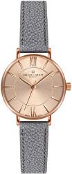 Shispare Lychee Grey Leather Strap Watch FCG-B032R