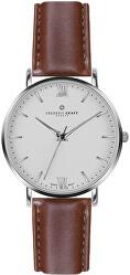 Silver Dent Blanche Cognac Leather FAH-B006S