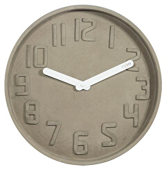 Dizajnové nástenné hodiny CL0127 fisúry 35cm