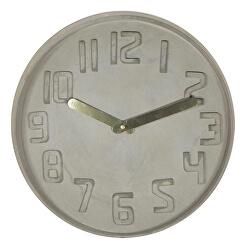 Dizajnové nástenné hodiny CL0128 fisúry 35cm