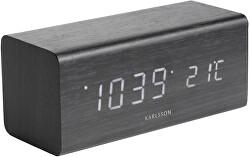 Designový LED budík - hodiny KA5652BK