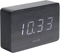 Designový LED budík - hodiny KA5653BK