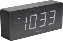 Designový LED budík - hodiny KA5654BK