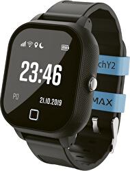 WatchY2 dětské chytré hodinky - černé