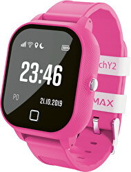 WatchY2 dětské chytré hodinky - růžové