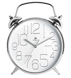 Nástěnné hodiny ve tvaru budíku 00815B