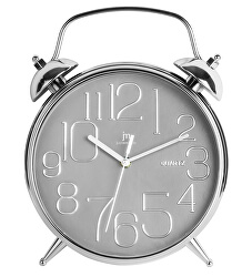 Nástěnné hodiny ve tvaru budíku 00815G