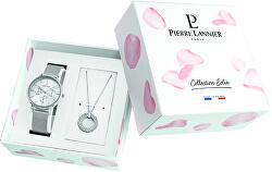 Geschenkset Uhr + Halskette 351G628