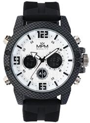 MPM Quality Carbon Anadigi W01M.11185.B