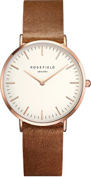 The Tribeca White-Brown-Rosegold