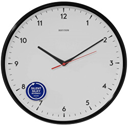 Nástěnné hodiny s tichým chodem CMG589NR02