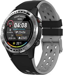 GPS Smartwatch W70G s kompasem, barometrem a výškoměrem - Grey