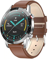 Smartwatch WT34BL - Brown Leather