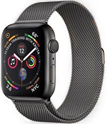 Milánói acél szíj Apple Watch - Grafit 42/44 mm