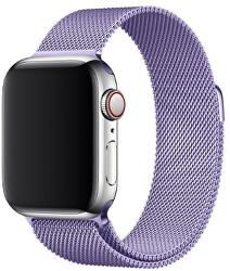 Ocelový milánský tah pro Apple Watch - Levandulový 38/40 mm