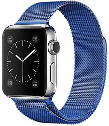 Ocelový milánský tah pro Apple Watch - Modrý 38/40 mm