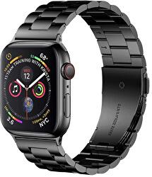 Acél szíj Apple Watch - Fekete 42/44 mm