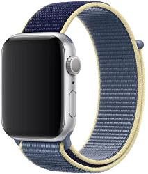 Provlékací sportovní řemínek pro Apple Watch - Seversky modrý 42/44 mm