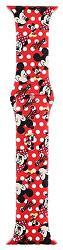 Silikonový řemínek pro Apple Watch - Červený Mickey Mouse 38/40 mm