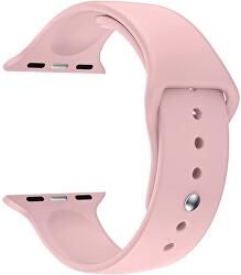 Silikonový řemínek pro Apple Watch - Růžový 42/44 mm - S/M