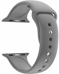 Silikonový řemínek pro Apple Watch - Šedý 38/40 mm - S/M