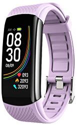 Fitness náramek s teploměrem WT12P - Purple