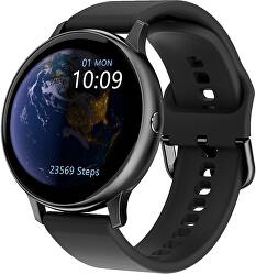 Smartwatch W31BS - Black Silicon
