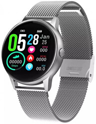 Smartwatch W36SST - Silver Stainless