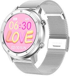 Smartwatch W89S - Silver Steel