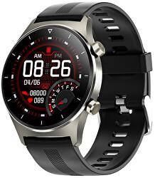 Smartwatch W46BS - Black Silicon