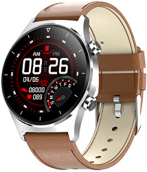 Smartwatch W42BL - Brown Leather