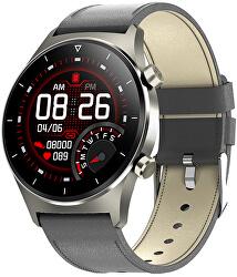 Smartwatch W43GL - Grey Leather