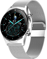 Smartwatch W45SST - Silver Stainless