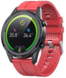 Smartwatch WO73R - Red