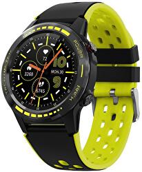 GPS Smartwatch W70Y s kompasem, barometrem a výškoměrem - Yellow