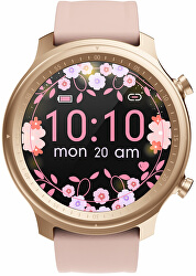 Smartwatch W33PS - Pink Silicone