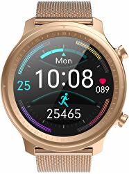 Smartwatch W27RG - Rose-Gold Stainless Steel
