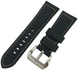 Milánói bőrszíj Samsung Galaxy Watch-hoz - Fekete 20 mm