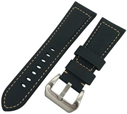Kožený řemínek pro Samsung Galaxy Watch - Černý 22 mm