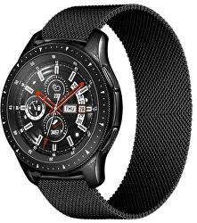 Milánský tah pro Samsung Galaxy Watch - Černý 22 mm