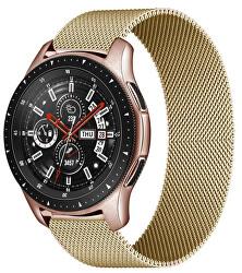 Milánský tah pro Samsung Galaxy Watch - Gold 20 mm