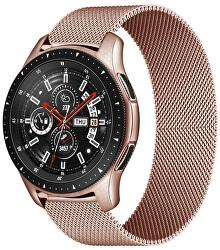 Milánói szíj a Samsung Galaxy Watch-hoz - Rosegold 20 mm