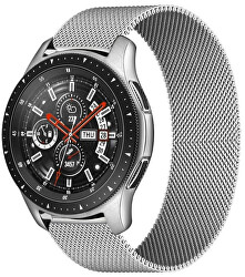 Milánský tah pro Samsung Galaxy Watch - Stříbrný 20 mm