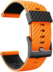 Řemínek pro Suunto 7, Suunto 9, 9 Baro a Spartan Sport - Orange/Black