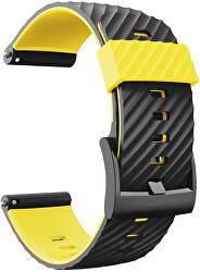 Řemínek pro Suunto 7, Suunto 9, 9 Baro a Spartan Sport - Yellow/Black