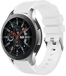 Silikonový řemínek pro Samsung Galaxy Watch - Bílý 22 mm