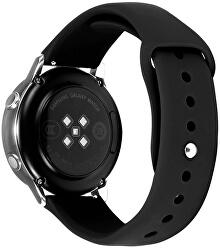 Silikonový řemínek pro Samsung Galaxy Watch - Black 20 mm