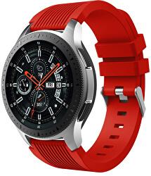 Silikonový řemínek pro Samsung Galaxy Watch - Červený 22 mm