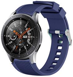 Silikonový řemínek pro Samsung Galaxy Watch - Midnight Blue 22 mm