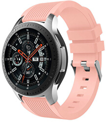 Silikonový řemínek pro Samsung Galaxy Watch - Růžový 20 mm